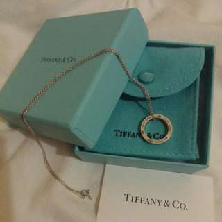 Tiffany Silver Necklace Brand New