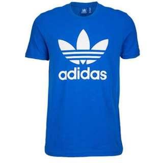 Adidas Originals Blue Shirt Top