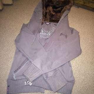 Grey Lonsdale Jacket Size 10