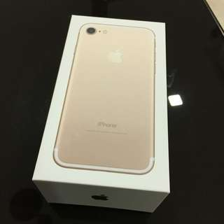 iPhone 7, Gold, 128GB