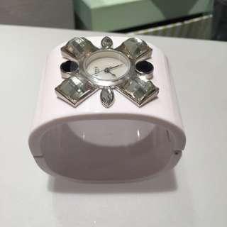 Lipsy White Watch/bangle