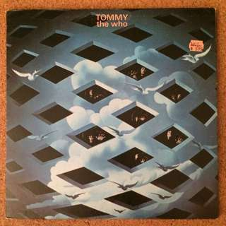 """Vinyl - The Who """"Tommy"""" 2LP"""