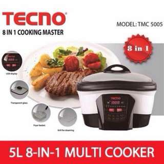Tecno 8 In 1 Cooking Master