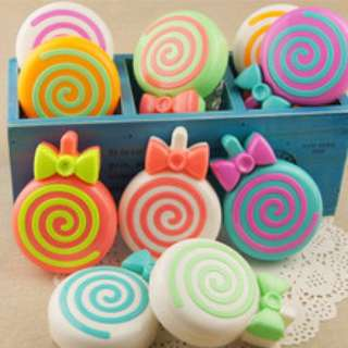 Cute Lollipop Contact Lens Case