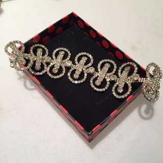 Glamorous Diamanté Bracelet