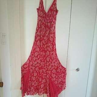 Sz M Summer Maxi Dress