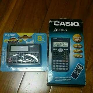 CASIO 工程用計算機,買大送小