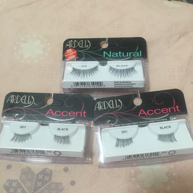 3 For $15 Ardell Lashes With Mini Glue