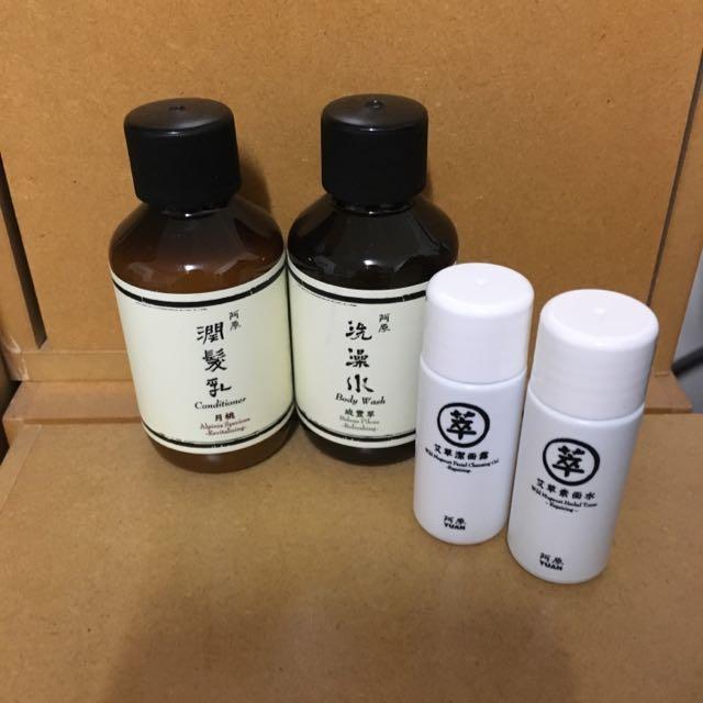 阿原 旅行瓶(洗澡水+潤髮乳)