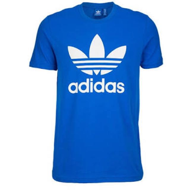 Adidas Originals Blue Shirt Top