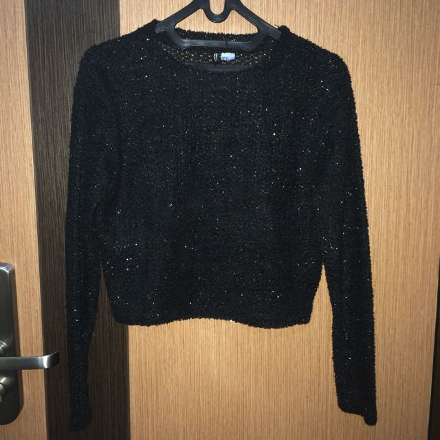 h&m // Crop Sweater