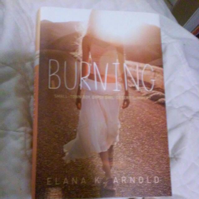"""""""Burning"""" Indigo Book"""
