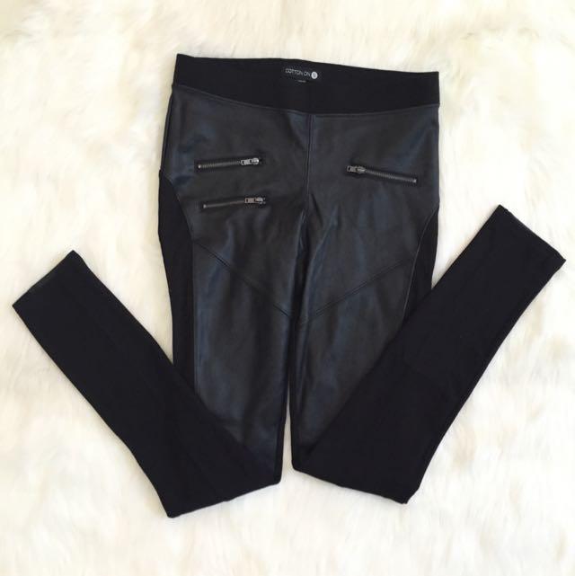 Celana Panjang Leather