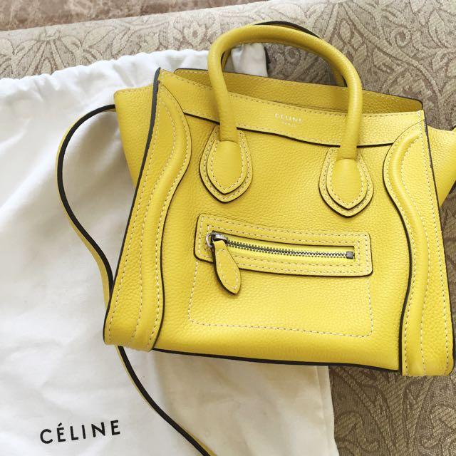 Celine - Nano Bag (Authentic)