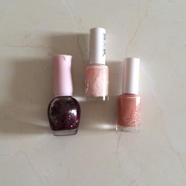 NEW Etude Nail Polish