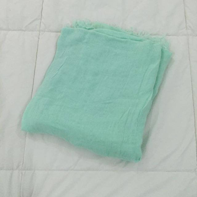 Forever 21 Mint Green Shawl