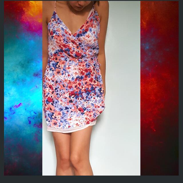 Forever 21 Wrap Around Dress