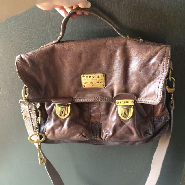 -ON HOLD- Fossil vintage crossbag
