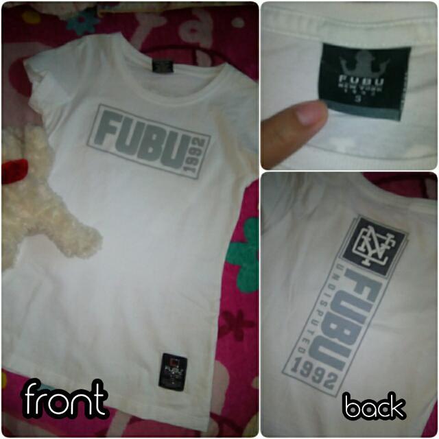 FUBU white shirt