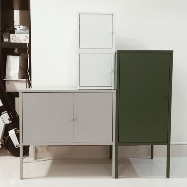Lixhult Cabinet: Ikea Lixhult Cabinets, Furniture On Carousell