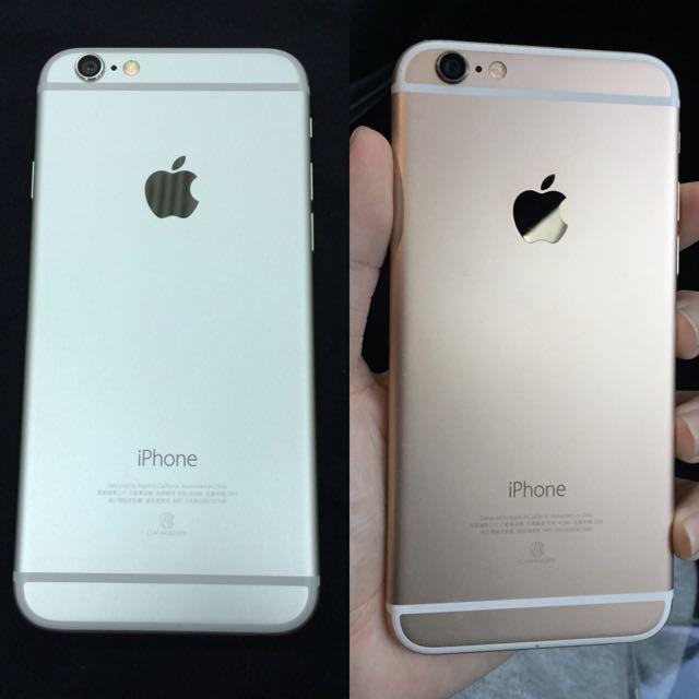 Iphone 6 金 銀各一