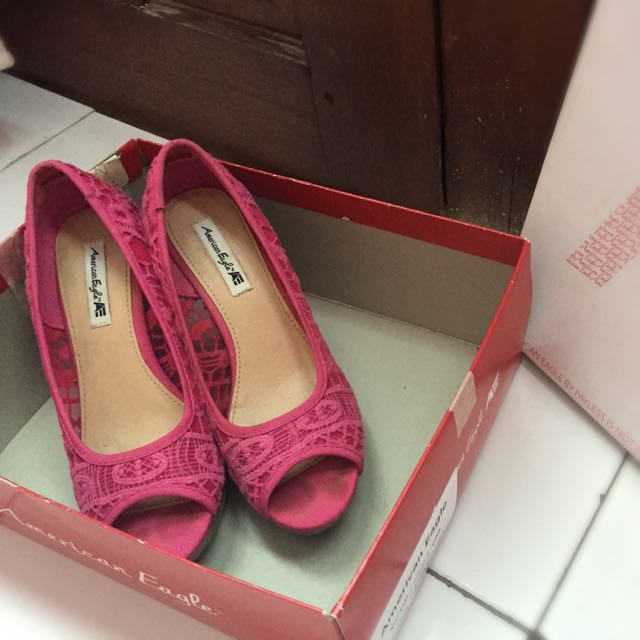 Lace Wedges American eagle By Payless