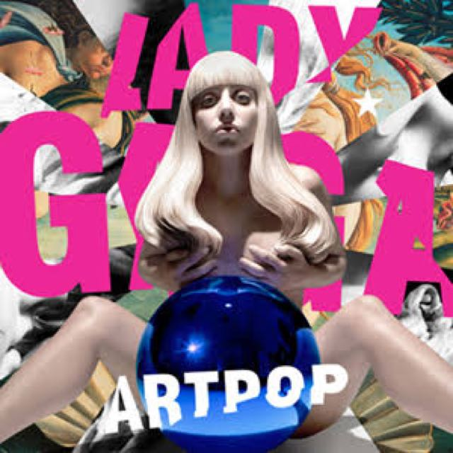 Lady Gaga Art Pop Album
