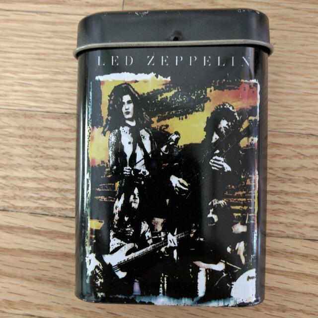 Led Zeppelin Cigarette Tin
