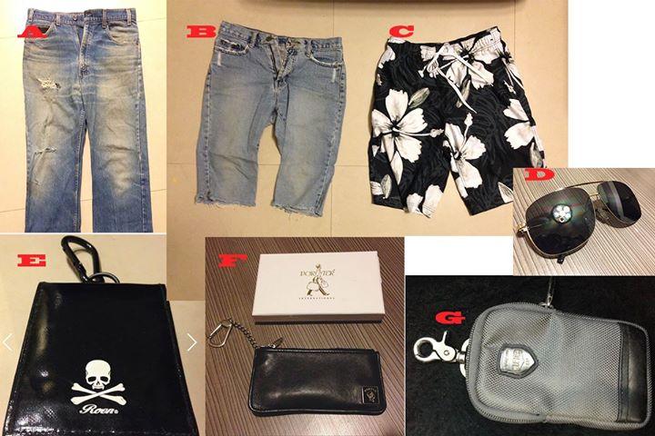 Levi's牛仔褲、海灘褲