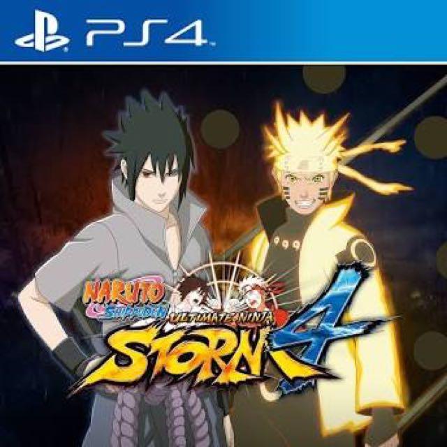 Naruto Ninja Storm 4 PS4