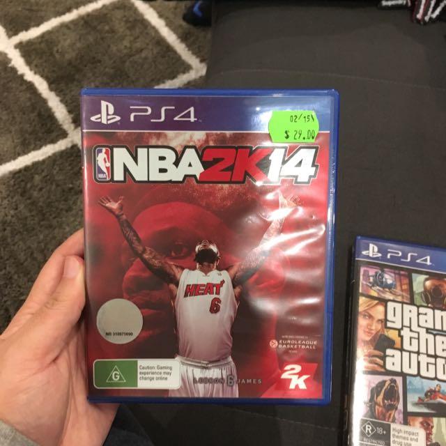 NBA2K14, FIFA 15