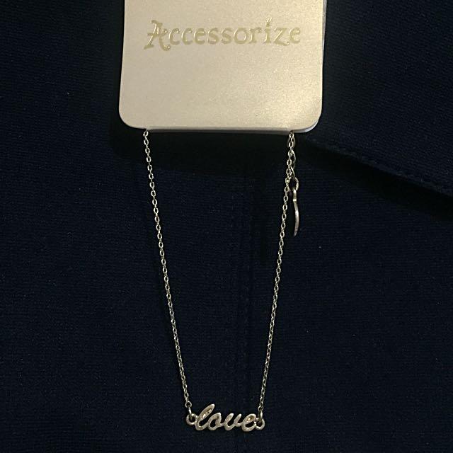 NEW accessorize love bracelet