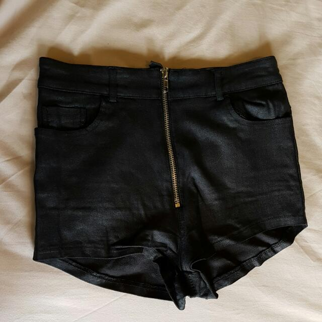One Way High Waisted Shorts