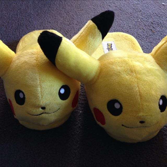 Pikachu Pokemon Slippers