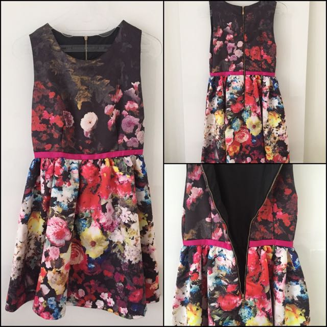 Preloved Flowery Dress Premium Quality