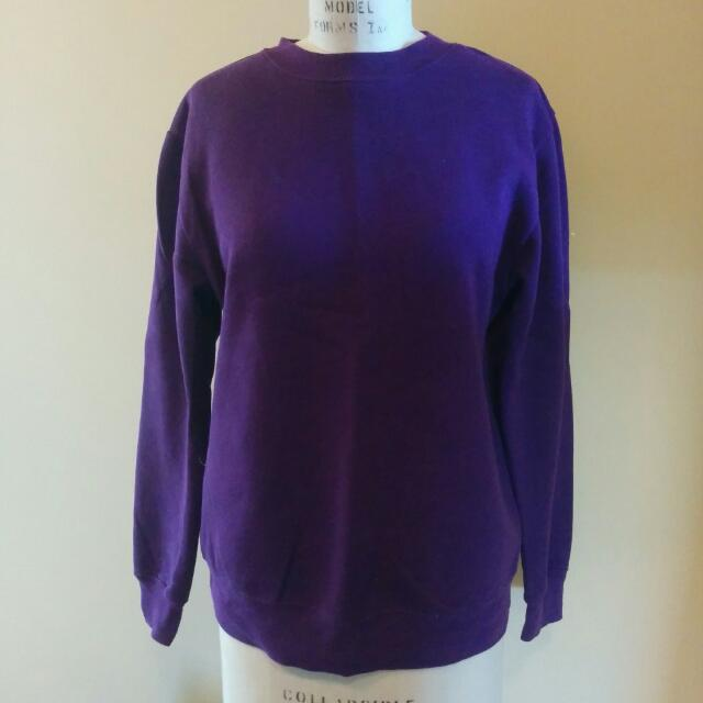 Purple Crewneck Sweater