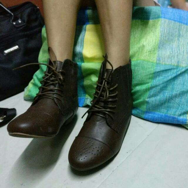 21bb7f48f38 Sole Desire By Atmosphere - High-cut Boots on Carousell