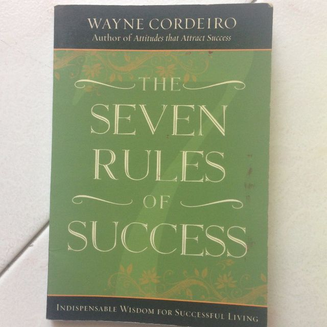 The Seven Rules of Success by Wayne Cordeiro