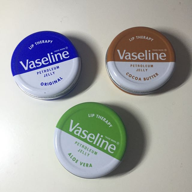 Vaseline Lip Therapy Petroleum Jelly 20gr