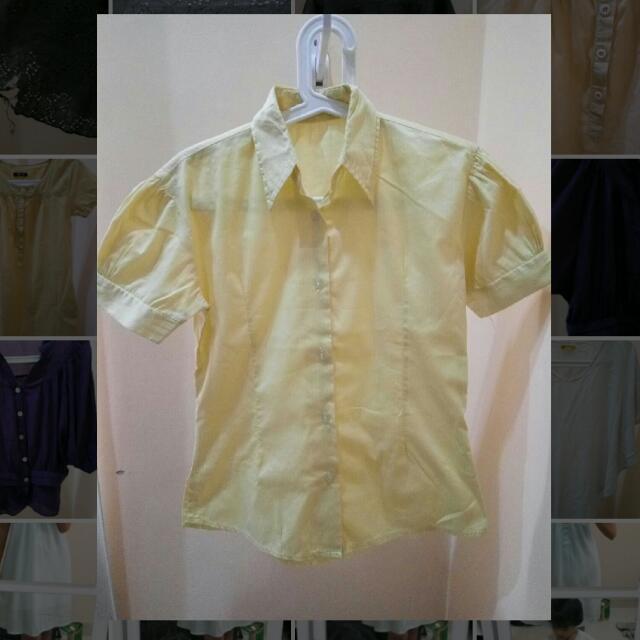 Yellow Shirt - Kemeja Kuning