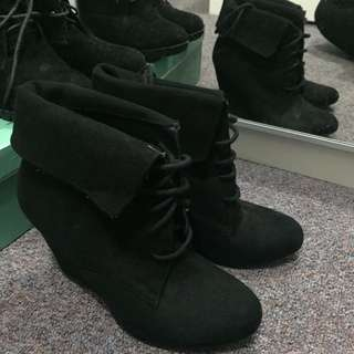 Ninewest Black Boost heel