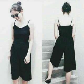 Basic Black Jumpsuit