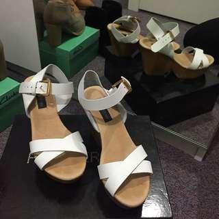 white Heel ForeverNew