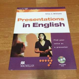 Presentations in English with DVD/1片