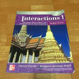 Interactions 1 (Writing) (Silver Edition)