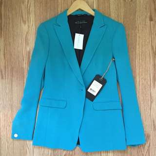 Rag and Bone Blue Blazer