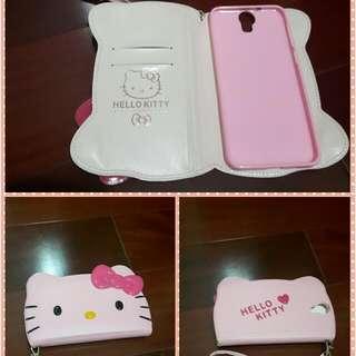 Kitty手機側翻套