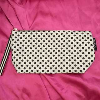 Lancôme Polka Dot Makeup Bag