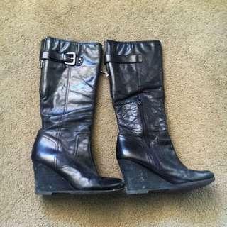 Naya Black Boots