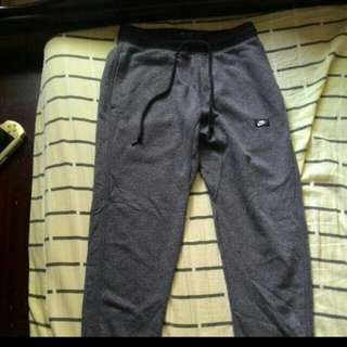 Nike 棉褲 縮口褲